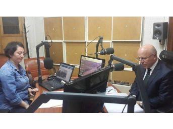 Başkan Sekmen, Trt Erzurum Radyosu'na Konuk Oldu