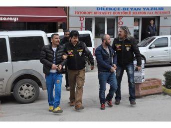 2 Kişiyi Yaralayan Şüpheliler Adliyeye Sevk Edildi