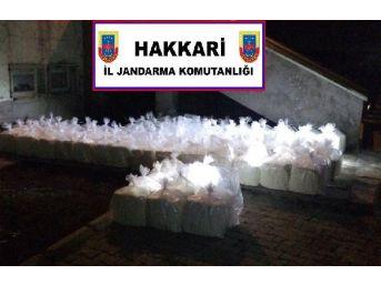 Yüksekova'da 9 Ton Kaçak Kaymak Ve Tereyağı Ele Geçirildi