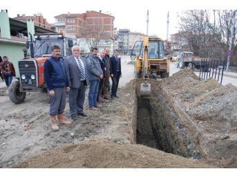 Taşköprü'de Meydan Projesi'nde Çalışmalar Başladı