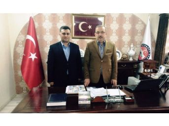 Ak Partili Ballı'dan Diyanet-sen Genel Başkanı Bayraktutar'a Ziyaret