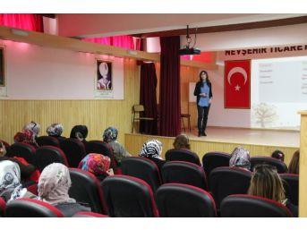 Nevşehir Belediyesi'nden 8 Mart Kadınlar Günü Etkinliği