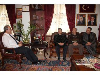 Nevşehir Tabip Odası Yöneticileri Ünver'i Ziyaret Etti