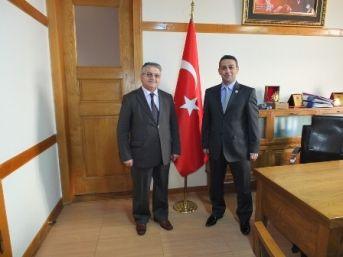 Müftüden Başsavcıya 'hayırlı Olsun' Ziyareti