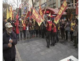 Ankara'da Berkin Elvan Yürüyüşüne Müdahale: 13 Gözaltı