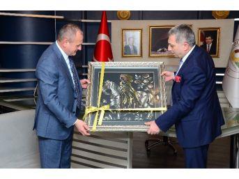 Milletvekili Metin Külünk, Başkan Keleş'i Ziyaret Etti