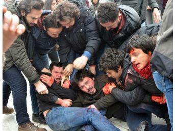 """Gezi Parkı'nda """"berkin Elvan"""" Eyleminde Arbede"""