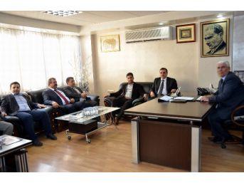 Ak Parti'den Şanlıurfa Şöförler Ve Otomobilciler Esnaf Odası'na Ziyaret