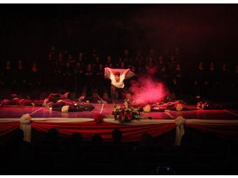Çü'de 100. Yılında Çanakkale Zaferi Ve Şehitleri Anma Günü