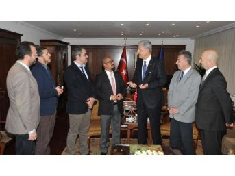 Tfmd Heyeti'nden Ab Bakanı Bozkır'a Ziyaret