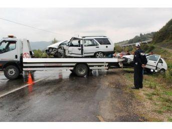 2014 Yılında Bartın'da 192 Trafik Kazası Meydana Geldi