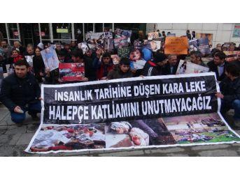 Halepçe Katliamı Tatvan'da Kınandı