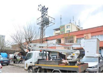 İslahiye'de Elektrik Kesintisi Tepkisi