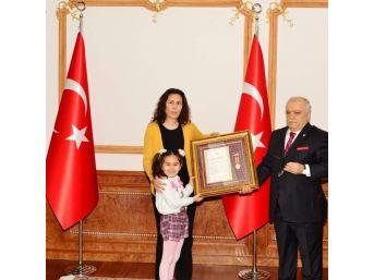 3 Şehit Ailesine Devlet Övünç Madalyası Verildi