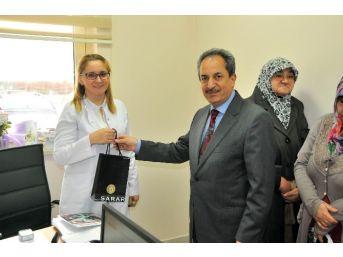 Başkan Akkaya Sağlık Çalışanların Tıp Bayramını Kutladı