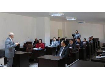 Beyşehir Belediyesi Personeline İmar Ve Şehircilik Semineri