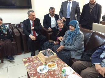 Başkan Kantarcı'dan Yaşlılara Ziyaret