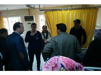 Başkan Öztürk, Kazazedeleri Hastanede Ziyaret Etti