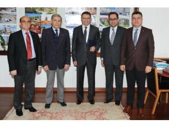Başkan Tiryaki'ye Ostim'den Ziyaret