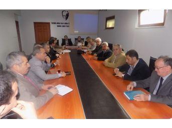 Mesleki Ve Teknik Eğitimin Geliştirilmesi Ve Yaygınlaştırılması Toplantısı Yapıldı