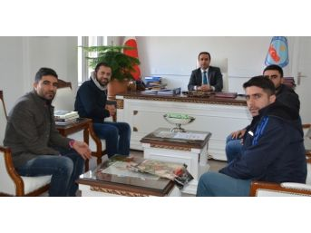 Atama Bekleyen Öğretmenlerden Kaymakam Erkan'a Ziyaret