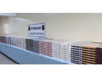 Diyarbakır'da 19 Bin Paket Kaçak Sigara Ele Geçirildi