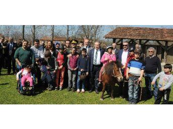 Düzceli Engelli Çocuklar At Biniyor