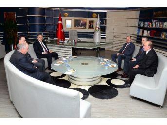 Vali Fidan'dan Başkan Keleş'e Ziyaret