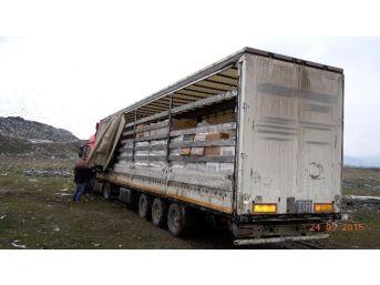 Erzincan'da 97 Bin 500 Paket Kaçak Sigara Ele Geçirildi