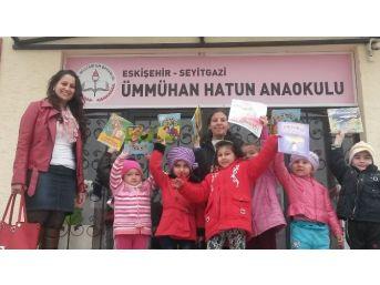 Çocukların İlk Kütüphane Heyecanı