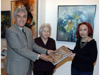 Müjgan Özkaya Yılmaz, Sanko Sanat Galerisi'nde Sergi Açtı