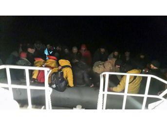 Sahil Güvenlik Ekipleri, 235 Kaçağı Kurtardı