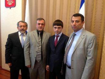 Kırım Cumhurbaşkanı, Kayseri Heyetini Kabul Etti
