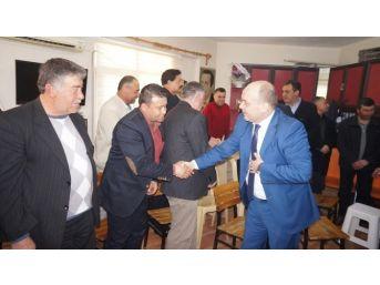 """Ak Parti İl Başkanı Gürcan: """"ak Parti Manisa'da Yüzde 55 Oy Hedefledi"""""""