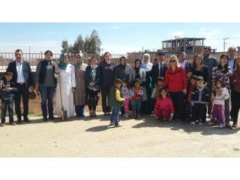 Kızıltepe'de Fidan Dikimi Etkinliği