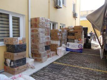 Sakarya'da 208 Bin Paket Kaçak Sigara Ele Geçirildi