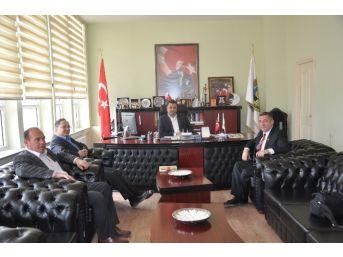 İha'dan Malkara Belediye Başkanı Yurdakul'a Ziyaret