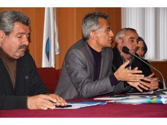 Dtk Ekonomi Van Komisyonu'ndan Erciş'te Çalıştay