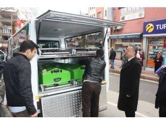 Çaycuma Belediyesi Yeni Cenaze Aracı Aldı