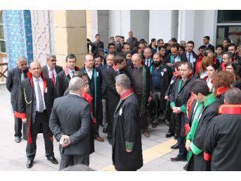 Amasya'da, Savcının Şehit Edilmesine Tepki...