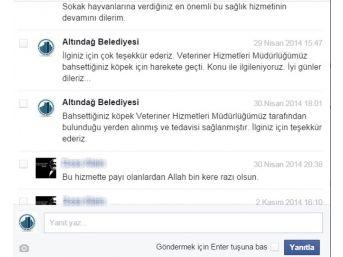 Altındağ Belediyesi Sosyal Medyada Da Çözümün Adresi