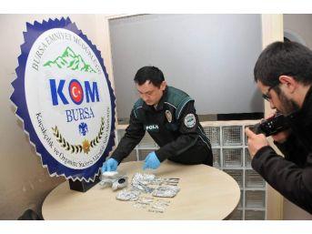 Bursa'da 80 Gram Metamfetamin Ele Geçirildi