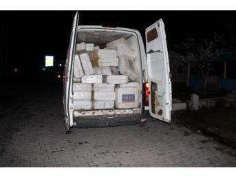 Hakkari'de Kaçak Sigara Operasyonu