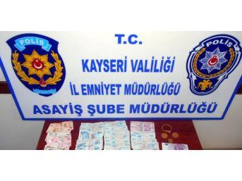 Kayseri'de Dolandırdı Şanlıurfa'ya Giderken Yakalandı