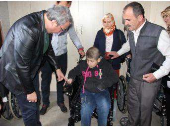 Nevşehir Belediyesi'Nden 2 Engelliye Daha Akülü Sandalye...