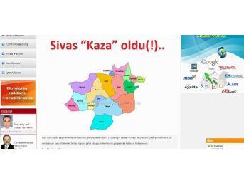Sivas'ta Haber Sitesinden '1 Nisan' Şakası