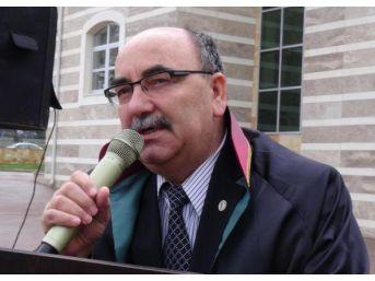 Uşak'ta Yargı Mensupları, Savcı Kiraz'ın Şehit Edilmesini Kınadı