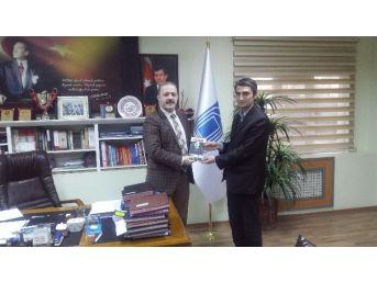 Anadolu Gençlik Derneği'nden Başkan Özgökçe'ye Ziyaret