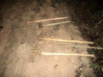 Sit Alanında Kazı Yapan 3 Kişiye Gözaltı