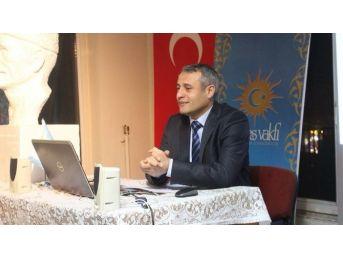 """Güneş Vakfı'nda """"osmanlılarda Kahve Ve Kahvehane"""" Konferansı"""